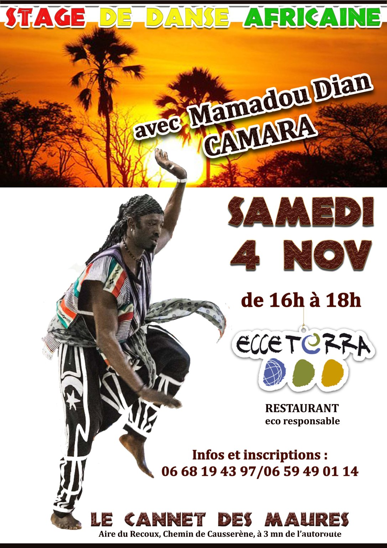 Stage danse Africaine avec Dian copie